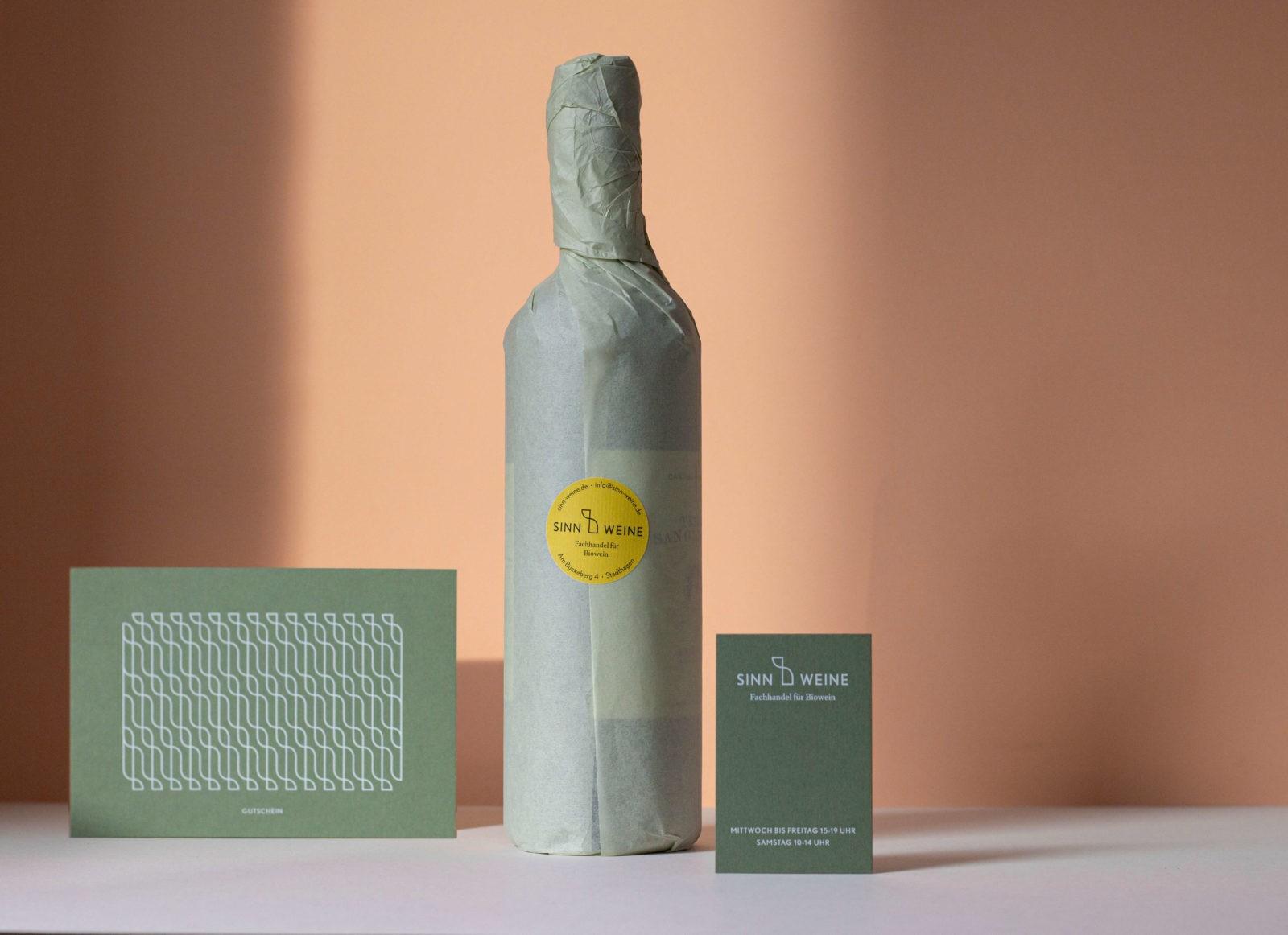 Sinn_Weine_Gutschein-Flasche-Visitenkarte